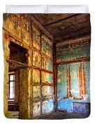 Rough Interior  Duvet Cover