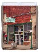 Route 66 - Chenoa Pharmacy Duvet Cover