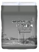 Route 66 - New Mexico Whiting Brothers Gas Duvet Cover