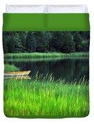Rowboat Duvet Cover