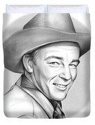 Roy Rogers Duvet Cover