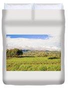 Rural Landscape Tanzania Duvet Cover