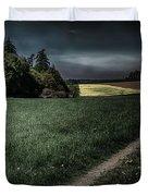 Rural Sunset Duvet Cover