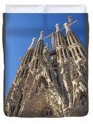 Sagrada Familia In Barcelona Duvet Cover