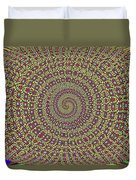 Saguaro Forest Abstract #2 Duvet Cover