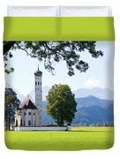 Saint Coloman Church 2 Duvet Cover