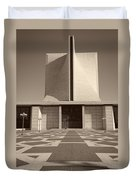 Saint Mary's Cathedral Of San Francisco Duvet Cover