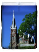Saint Peter's Roman Catholic Church In Harpers Ferry Duvet Cover