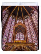 Sainte Chapelle Duvet Cover