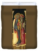 Saints Peter And Jerome Duvet Cover