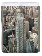 Salesforce Tower In San Francisco Duvet Cover