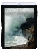 Salty Froth Duvet Cover