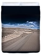 Sand Dunes Of Colorado Duvet Cover