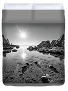 Sand Harbor Star Duvet Cover