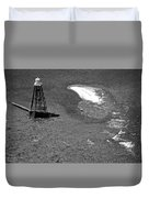Sand Key Lighthouse Fl Duvet Cover