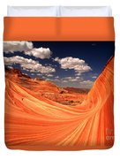 Sandstone Wave Curl Duvet Cover