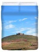 Santa Barbara Castle - Lanzarote Duvet Cover