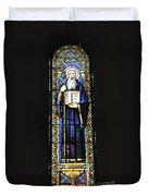 Santa Maria De Montserrat Abbey Duvet Cover