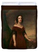 Sarah Polk, First Lady Duvet Cover