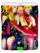 Sassy Sisters Duvet Cover