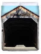 Schofield Ford Covered Bridge Duvet Cover