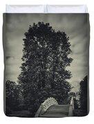 Schwetzingen Castle Park Duvet Cover