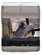 Sea Fury Reflections Duvet Cover