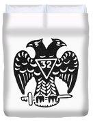 Seal: Freemasonry Duvet Cover