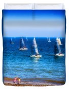Seaside Fun Duvet Cover
