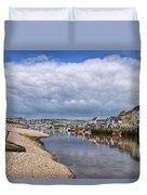 Seaton Harbour - Devon Duvet Cover