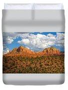 Sedona Mountains Arizona Duvet Cover