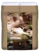 Sedona River Rock Duvet Cover