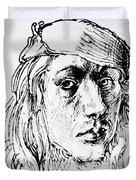 Self Portrait 1493  Duvet Cover