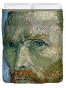 Self-portrait Duvet Cover by Vincent Van Gogh
