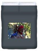 Seminole Warrior Duvet Cover