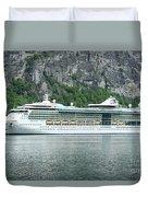 Serenade Of The Seas Duvet Cover