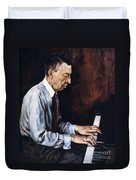 Sergei Rachmaninoff Duvet Cover