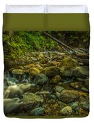 Shackleford Falls Duvet Cover
