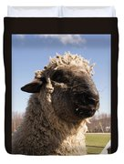 Sheep Face Duvet Cover