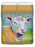 Sheep Head Duvet Cover