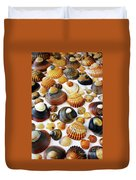 Shell Background Duvet Cover