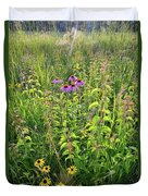 Shelley Kelly Prairie Wildflowers Duvet Cover