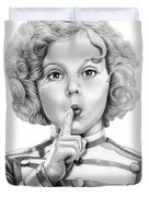 Shirley Temple Duvet Cover
