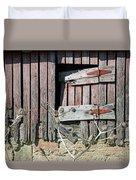 Side Door Duvet Cover