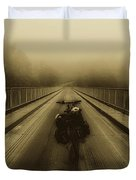 Sights Along The Way Duvet Cover