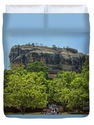 Sigiriya Rock Duvet Cover