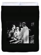 Silent Film Still: Wedding Duvet Cover