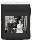Silent Still: Couples Duvet Cover
