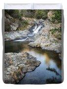 Silky Stream Duvet Cover