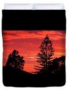 Simple Sunset Duvet Cover